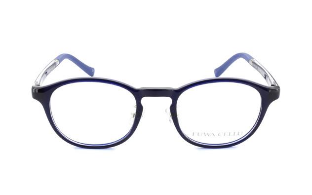 Eyeglasses FUWA CELLU FC2002-T  ネイビー