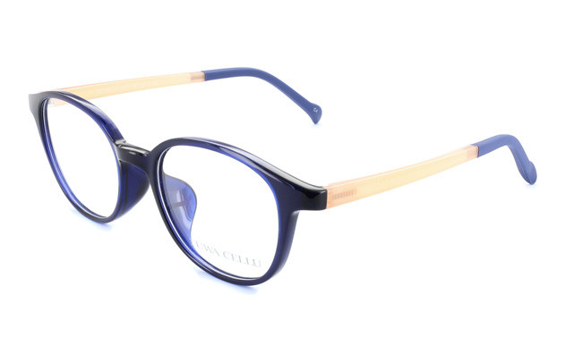 Eyeglasses FUWA CELLU FC2003-T  ネイビー