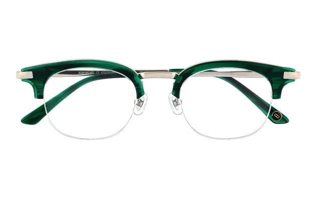 Eyeglasses John Dillinger JD2019G-8S  グリーンササ