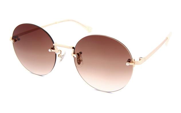 Sunglasses OWNDAYS SUN1058B-0S  ゴールド