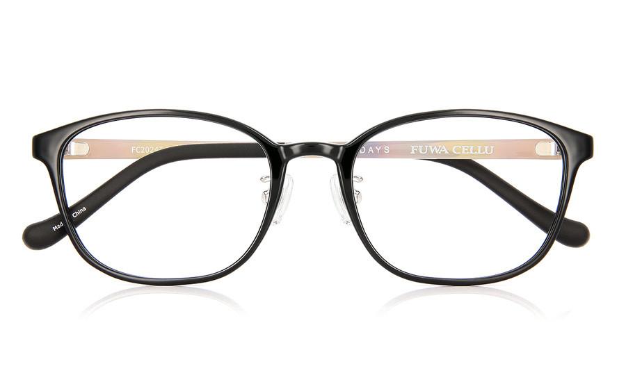 Eyeglasses FUWA CELLU FC2024T-1S  Black