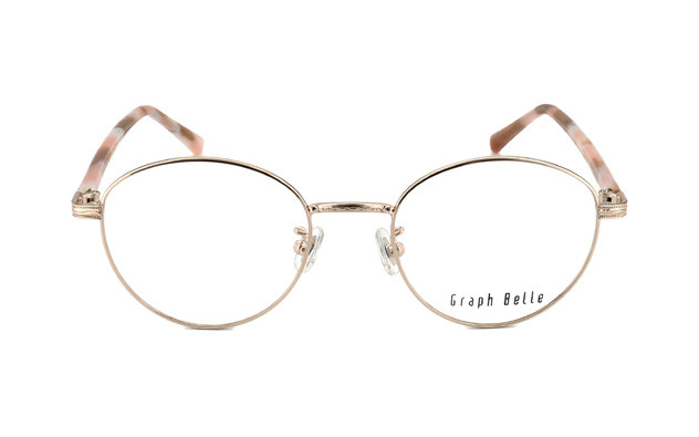Eyeglasses Graph Belle GB1006-T  ゴールド