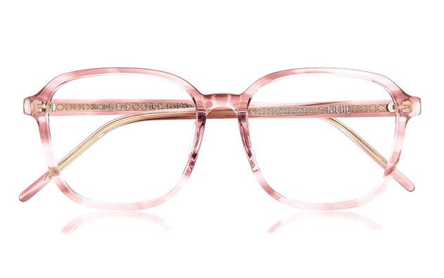 Eyeglasses +NICHE NC3016J-0S  クリアレッドデミ