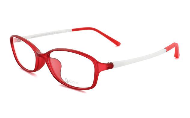 Eyeglasses ECO2XY ECO2010-K  マットクリアレッド
