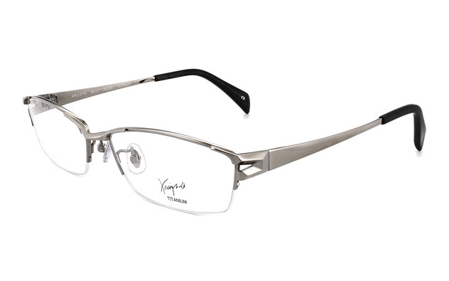 Eyeglasses K.moriyama KM1127-G  Light Gun