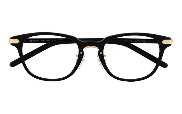 Eyeglasses John Dillinger JD2021-Y  ブラック