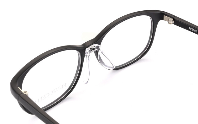 Eyeglasses FUWA CELLU FC2001-T  マットブラック