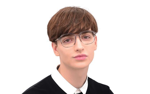 Eyeglasses +NICHE NC3016J-0S  Clear Red Demi