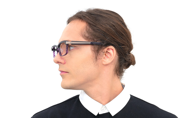 Eyeglasses BUTTERFLY EFFECT BE2015J-9A  ブラック