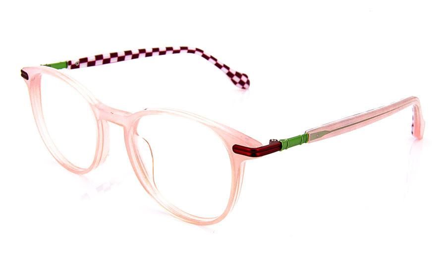 Eyeglasses DEMON SLAYER -KIMETSU NO YAIBA- KMTY2002Y-1S  Clear Pink