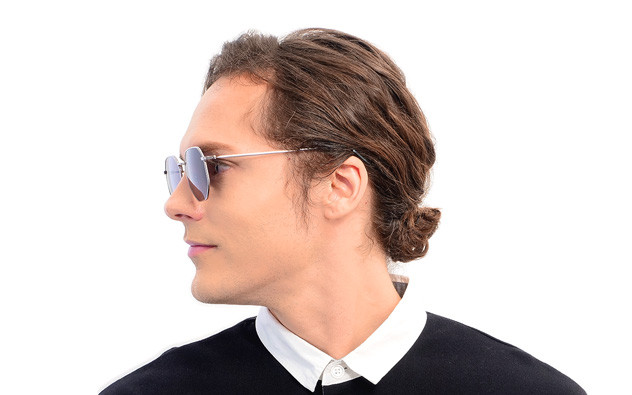 Sunglasses OWNDAYS SUN1054B-9A  ブラック