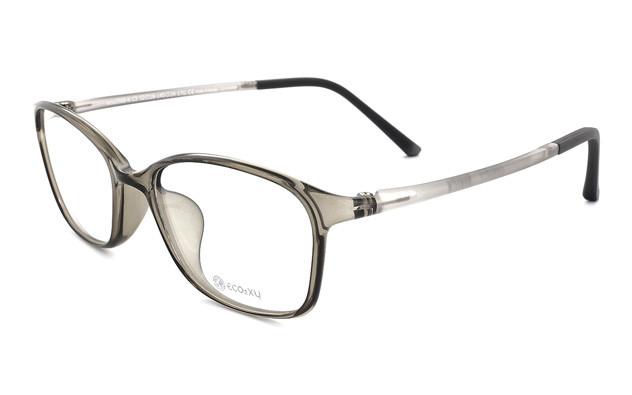 Eyeglasses ECO2XY ECO2008-K  クリアグレー