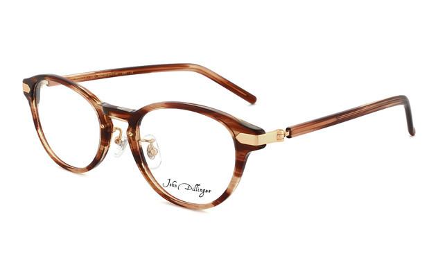 Eyeglasses John Dillinger JD2022-Y  ブラウンササ