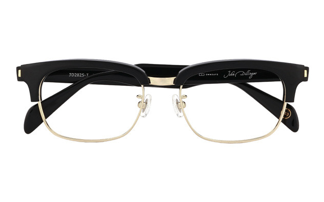 Eyeglasses John Dillinger JD2025-J  Black