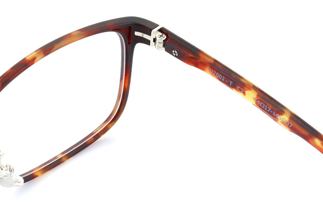 Eyeglasses AIR Ultem AU2002-T  マットブラウンデミ