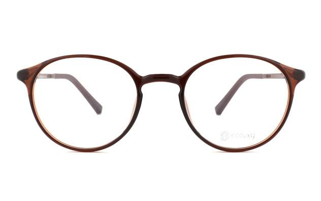 Eyeglasses ECO2XY ECO2009-K  ライトブラウン