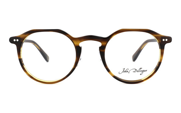 Eyeglasses John Dillinger JD2018-J  Brown