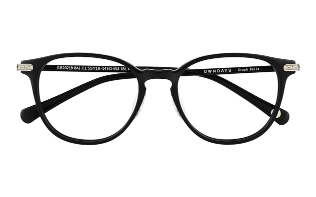 Eyeglasses Graph Belle GB2021B-8A  ブラック