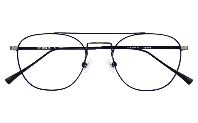Eyeglasses Graph Belle GB1018G-8A  ネイビー