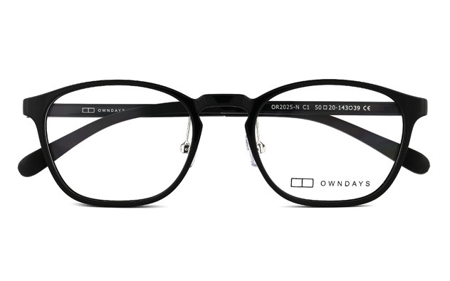 Eyeglasses OWNDAYS OR2025-N  Black