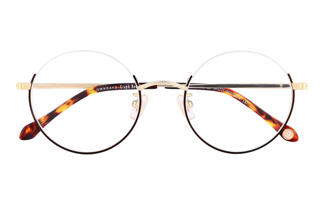 Eyeglasses Graph Belle GB1019G-8A  Dark Brown