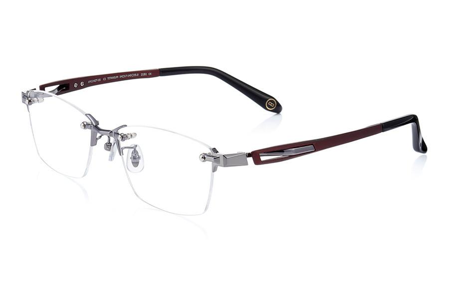 Eyeglasses K.moriyama KM1142T-1S  Mat Dark Red