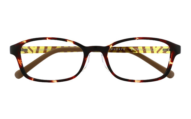 Eyeglasses FUWA CELLU FC2009T-8S  ブラウンデミ