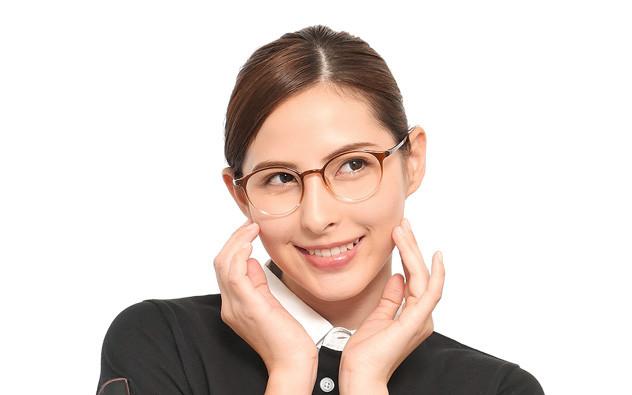 Eyeglasses ECO2XY ECO2012-K  ブラウンデミ