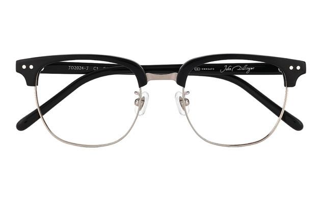 Eyeglasses John Dillinger JD2024-J  ブラック