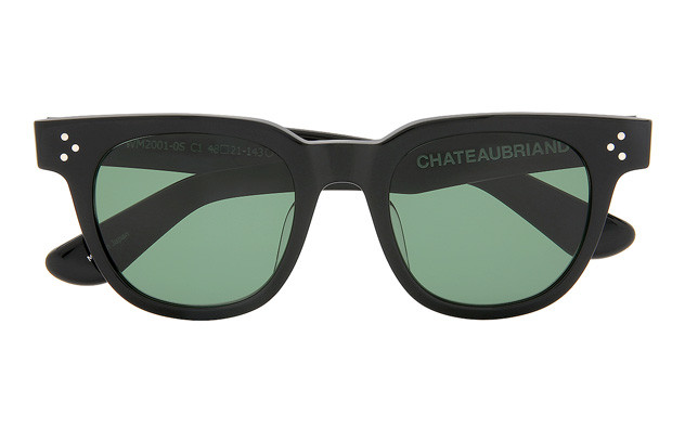 Sunglasses CHATEAUBRIAND - OWNDAYS × WAGYUMAFIA WM2001-0S  Black