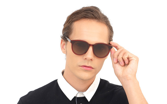 Sunglasses OWNDAYS SUN2058J-9S  レッド