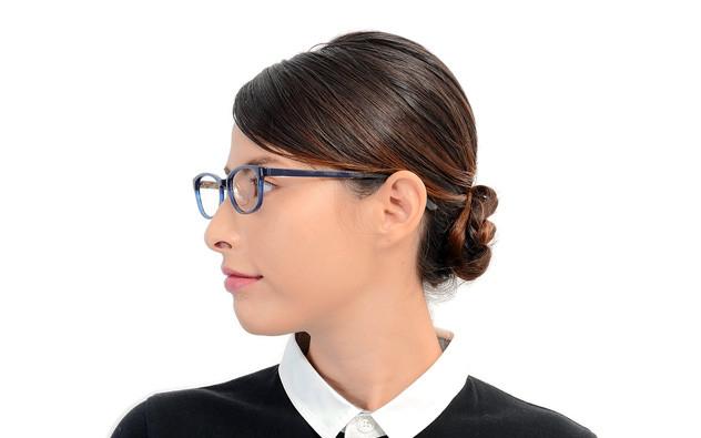 Eyeglasses FUWA CELLU FC2019S-0S  Brown Demi