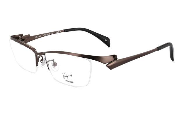 Eyeglasses K.moriyama KM1124-G  マットガン