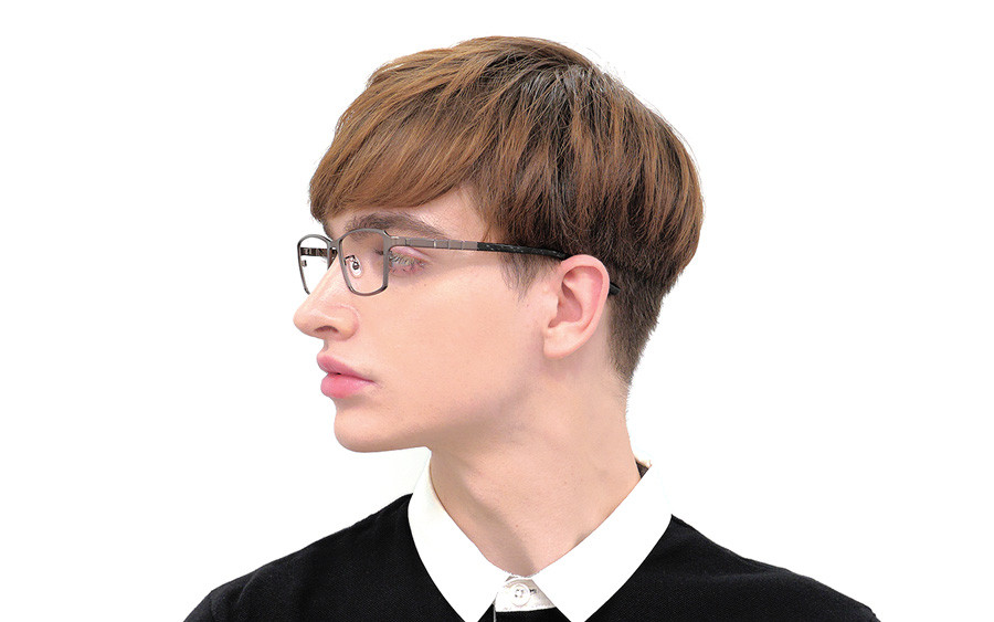 Eyeglasses K.moriyama KM1143T-1S  Mat Black
