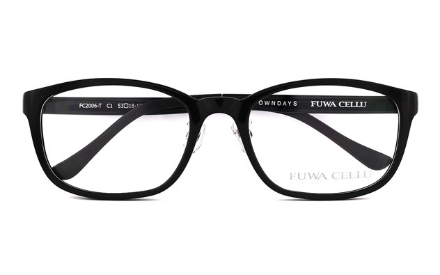 Eyeglasses FUWA CELLU FC2006-T  ブラック