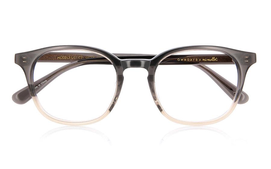 Eyeglasses mi-mollet × OWNDAYS MI2001J-1A  Brown