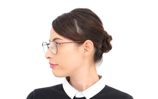 Eyeglasses lillybell LB1005G-8A  Mat Brown