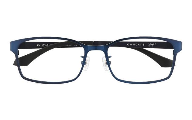 Eyeglasses K.moriyama KM1133-G  ブルー