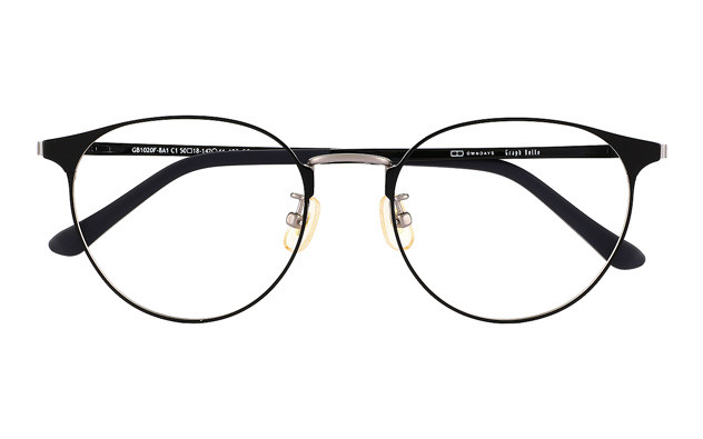 Eyeglasses Graph Belle GB1020F-8A  ブラック