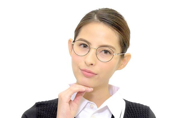 Eyeglasses Graph Belle GB1006-T  シャイニーネイビー