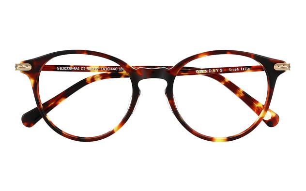 Eyeglasses Graph Belle GB2022B-8A  ブラウンデミ