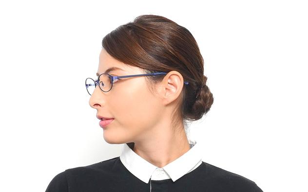 Eyeglasses Calmo CL1004Q-8A  ピンクブラウン