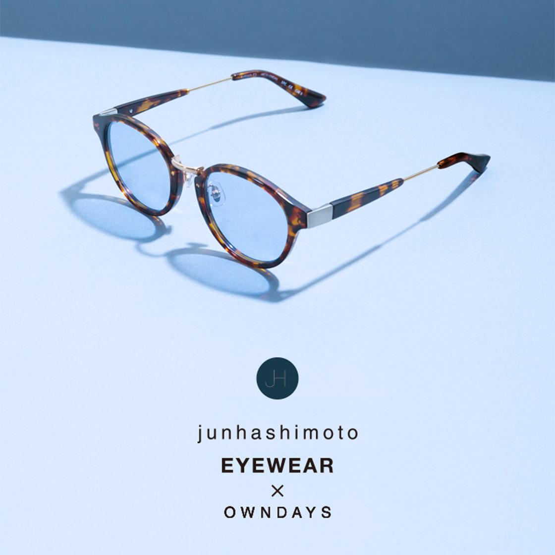 junhashimoto EYEWEAR x OWNDAYS
