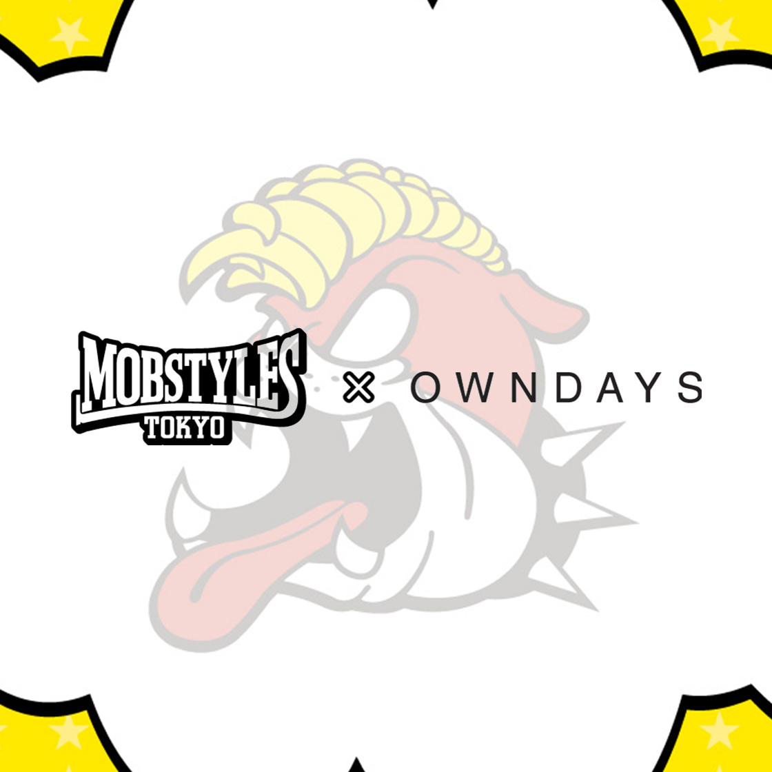 【完売】MOBSTYLES x OWNDAYS