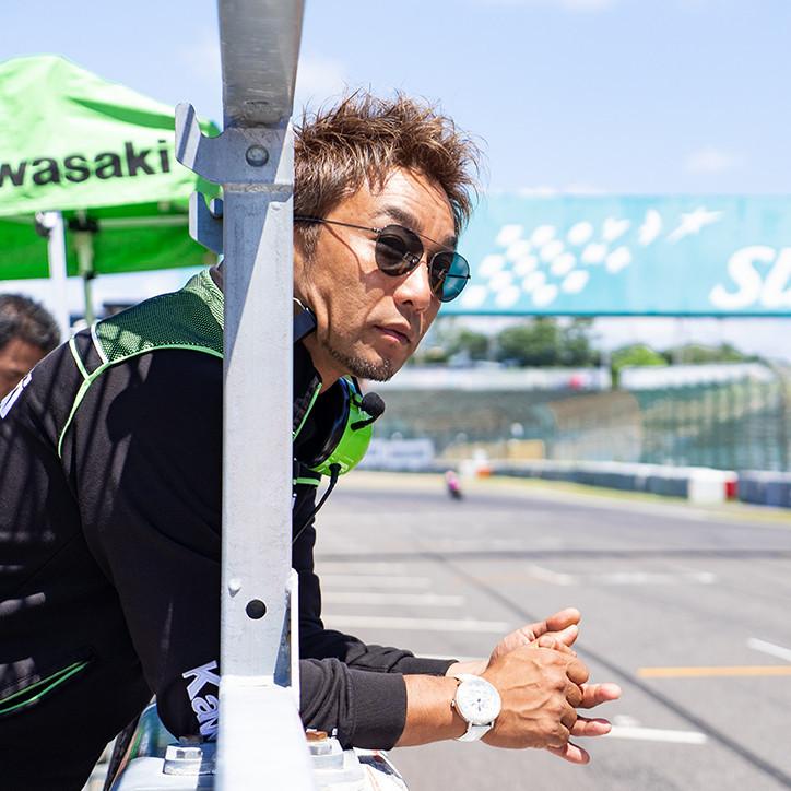 #18 FUJIWARA KATSUAKI