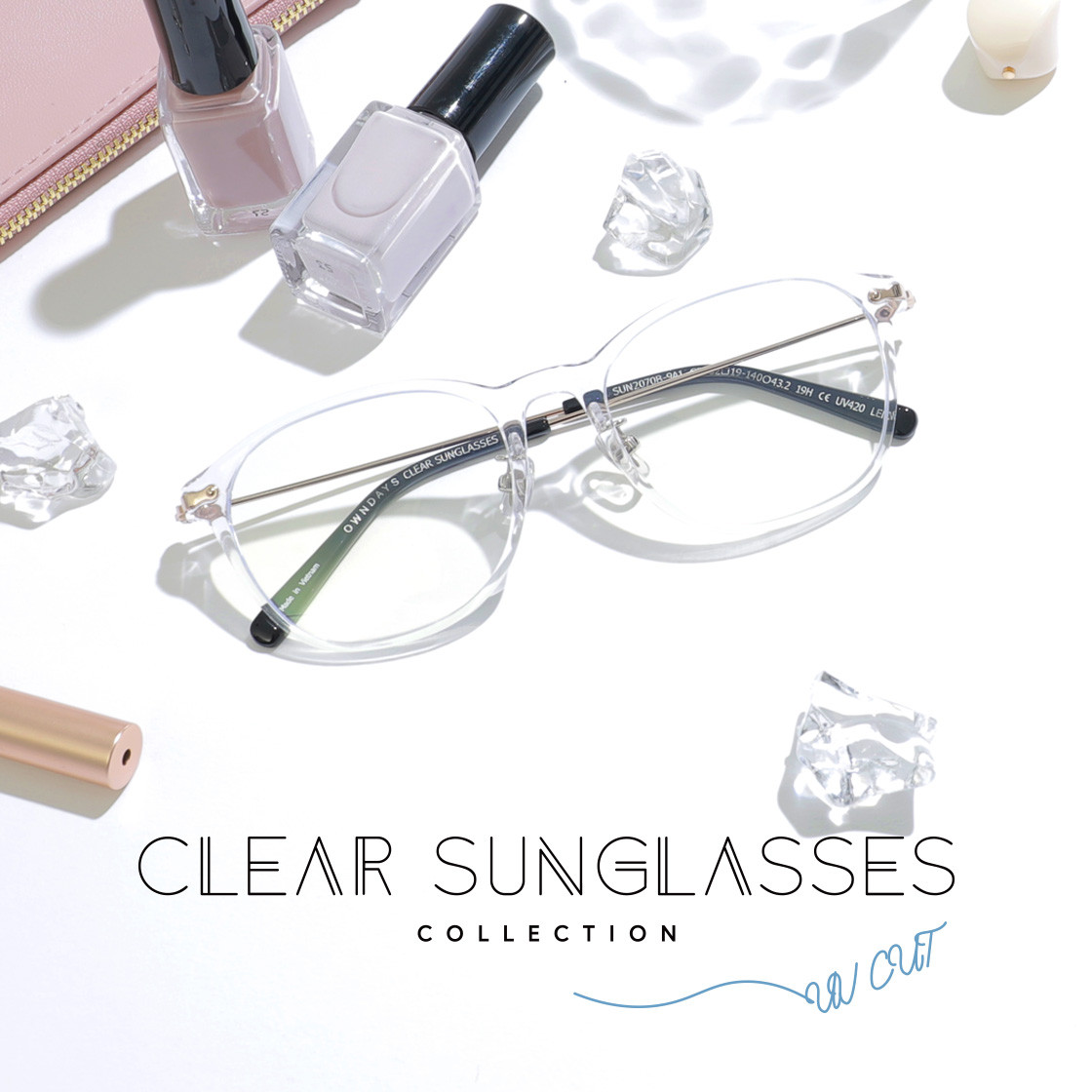CLEAR SUNGLASSES COLLECTION