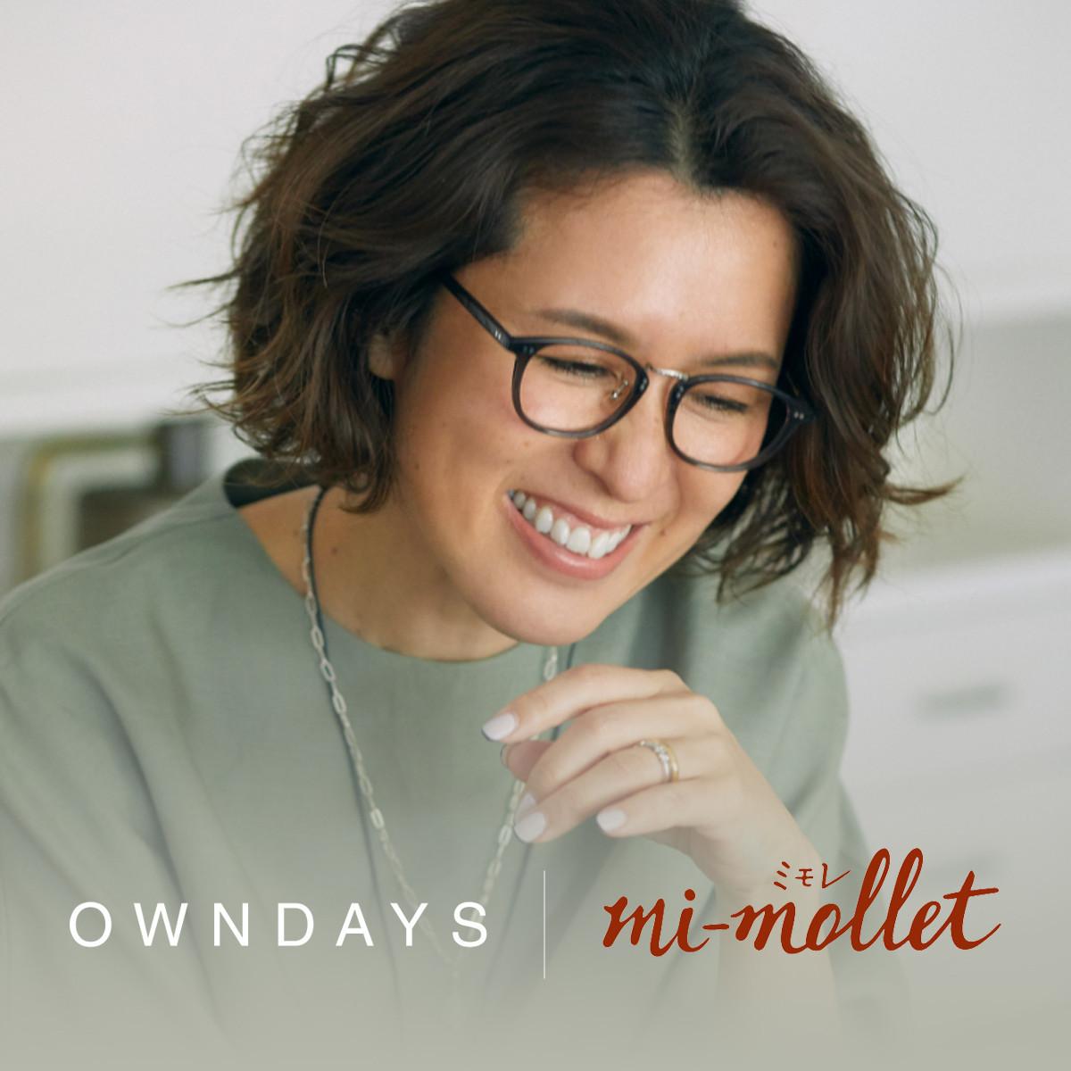 mi-mollet × OWNDAYS